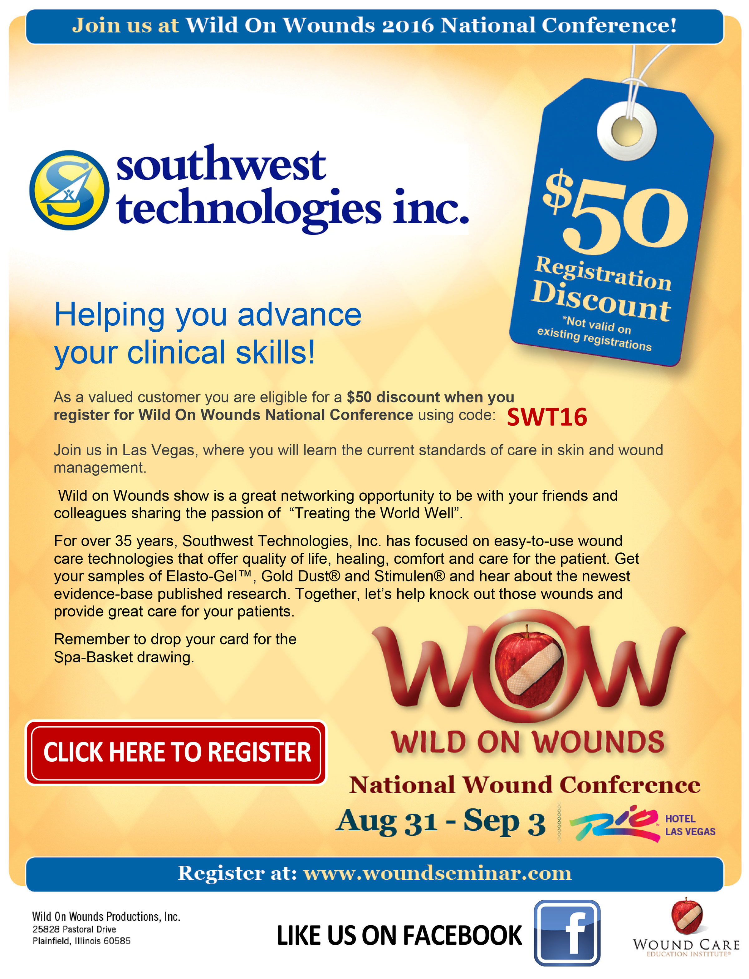 Wild On Wounds 2016 National Conference
