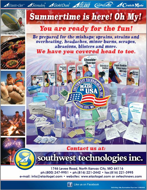 Southwest Technologies Summertime Flyer June 2020